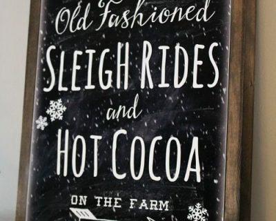 Sleigh Rides & Sausage Sampling : Dec 16, 2017