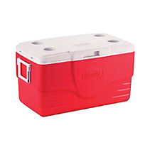 Square Red Cooler 2