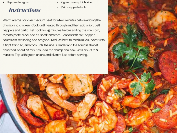 Warm up with this Jambalaya Recipe